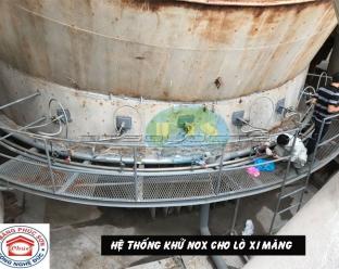 Hệ thống khử oxit nito NOx ở nhà máy Xi măng Phúc Sơn